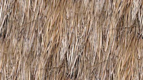 Seamless Natural Straw Background