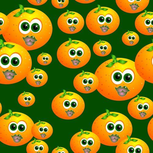 Iliustracijos, clip & nbsp, menas, iliustracija, grafika, plytelės, tilable, besiūliai, besiūliai & nbsp, plytelės, modelis, dizainas, tekstūra, fonas, menas, abstraktus, animacinis filmas, oranžinė, vaisiai, maistas, veidas, besiūliai oranžinė plytelė