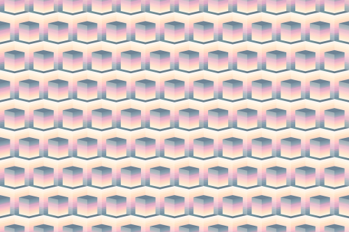 seamless pattern background cube