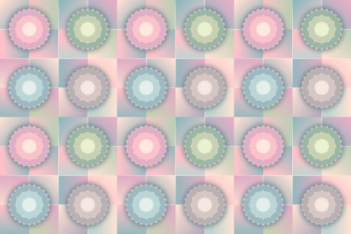 seamless pattern pastels background