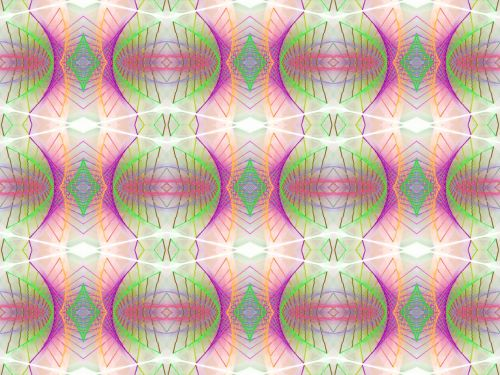 Seamless Pattern With Line