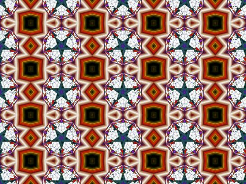 Seamless Pattern With Star