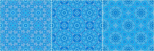 besiūliai, modelis, Kaleidoskopas, kaleidoskopinė, fonas, besiūliai modeliai mėlyni