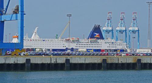 seaport zeebrugge kai