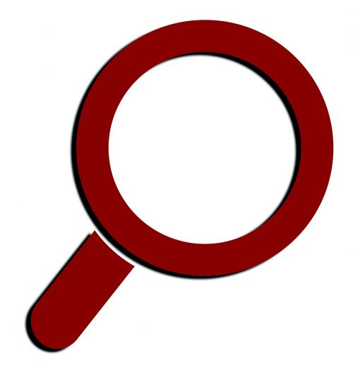 search magnifying glass increase