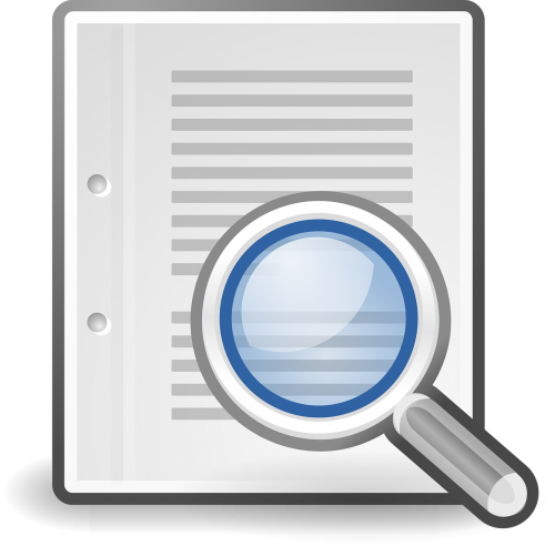 search loupe document