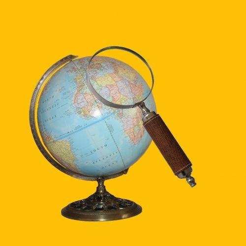 searching map world