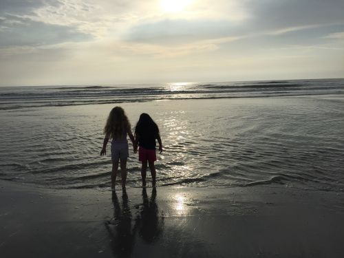 seascape children summer
