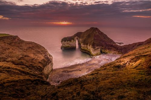 seascape landscape sunrise
