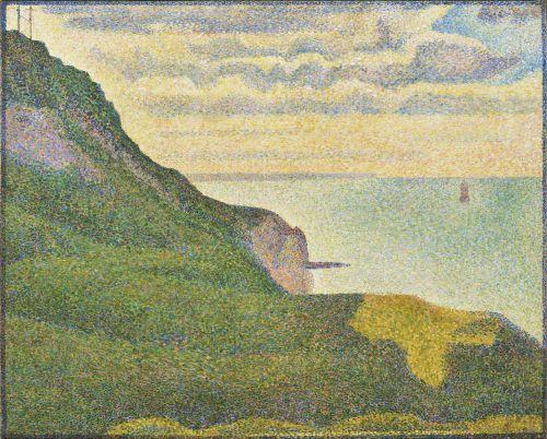Seascape At Port-en-Bessin,