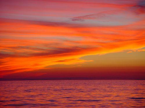 Seascape Sunset