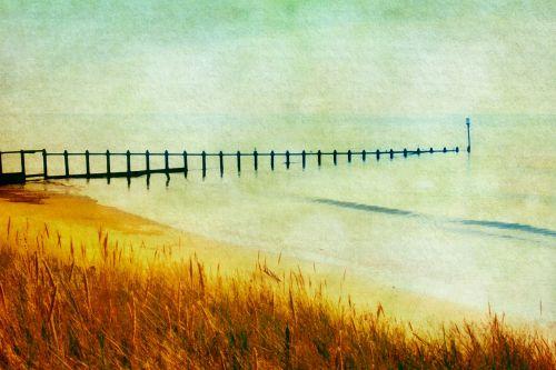 Seascape Watercolour Painting