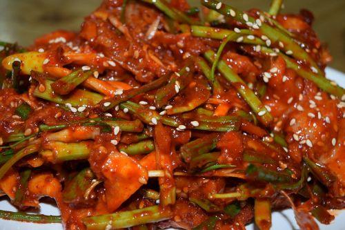 seasoned golbaengyi pepper acridity