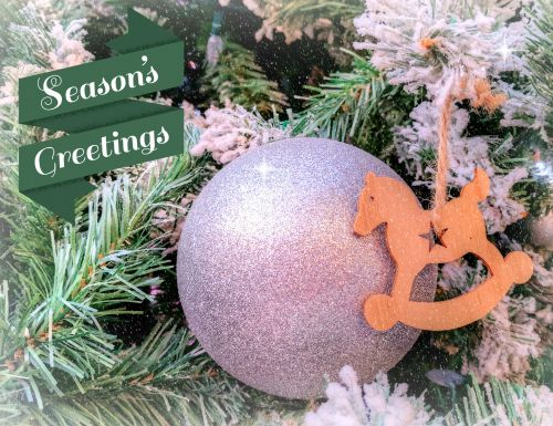 Seasons Greeting Ornament