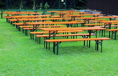 seat beer garden seating