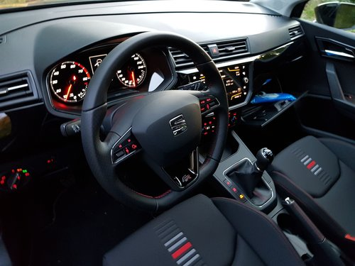 seat ibiza fr  car interior  seat ibiza fr interior