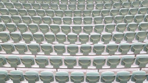 seating stadium empty