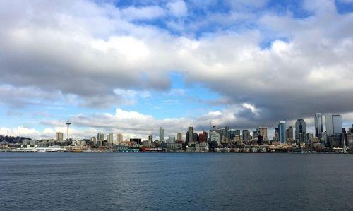 Seattle,Sietlo pakrantė,wa