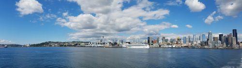 seattle panoramic city