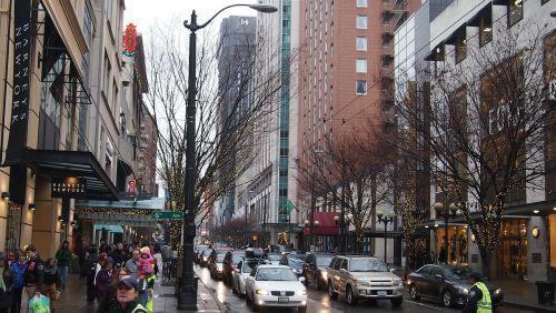 seattle downtown city