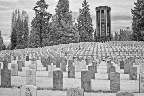 seattle cemetery military
