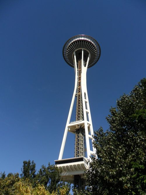seattle space needle landmark
