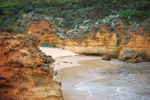 papludimys, didelis & nbsp, okeanas, & nbsp, kelias, australia, secluded beach australia