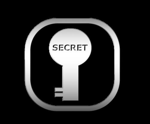 secret keyhole open