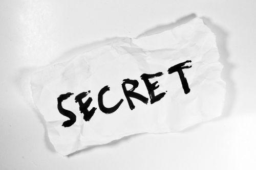 secret hidden message