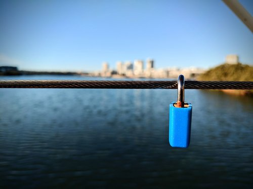 secret  lock  padlock