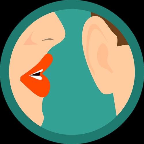 secret  whispering  ear