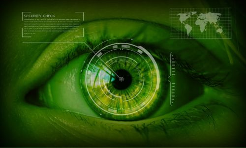 security safety concept eyes