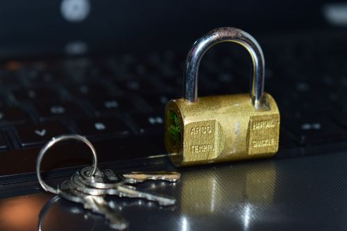 security padlock keyboard