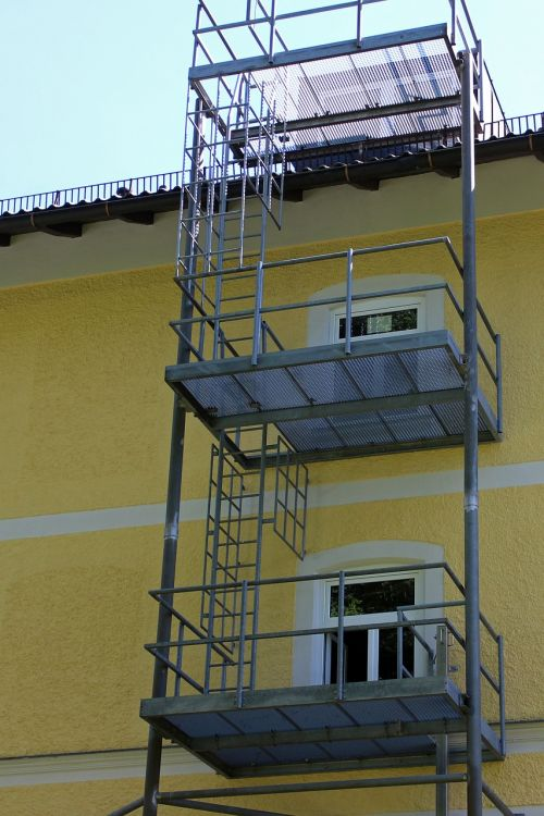security fire escape emergency ladder