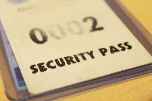 security pass id
