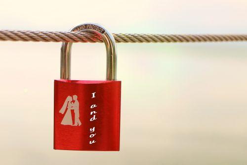 security lock symbol love