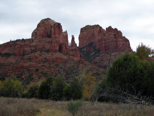 Sedona Cathedral Mountains