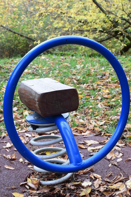 see saw game device playground
