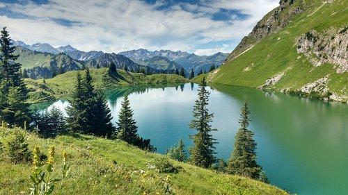 seeaple lake  foghorn  oberstdorf