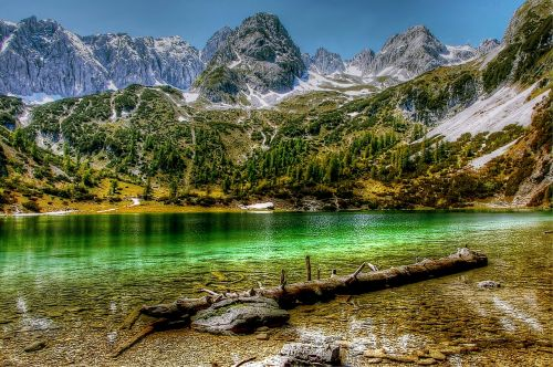 seebensee tyrol mountains
