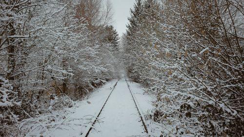 seemed winter railway