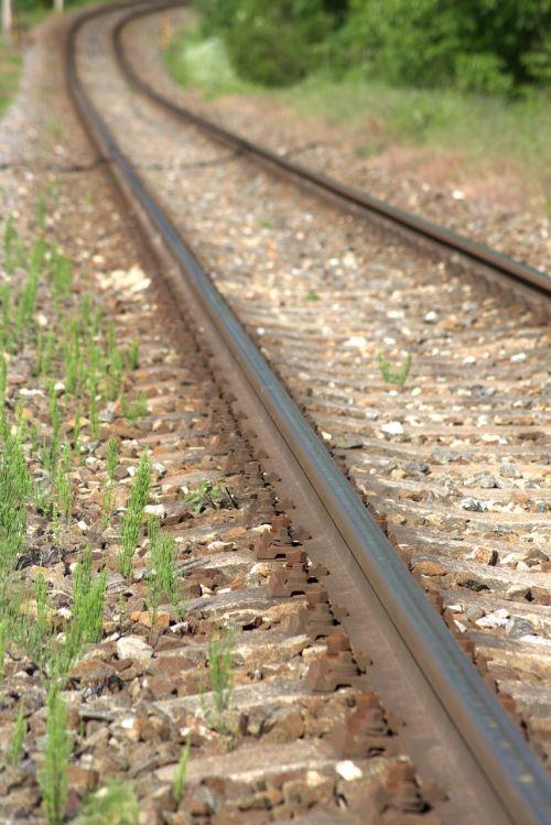 seemed track railway rails