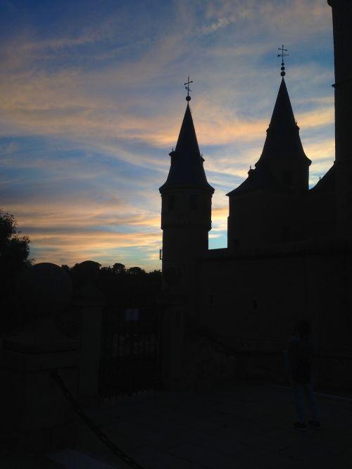 segovia castle medieval