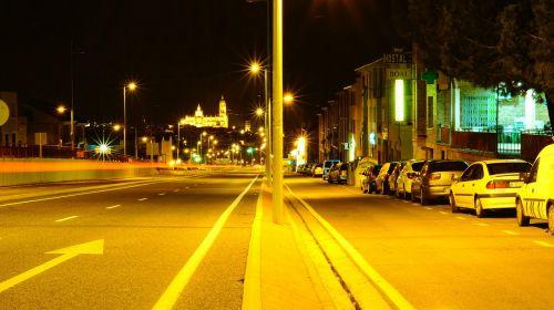 segovia spain urban landscape