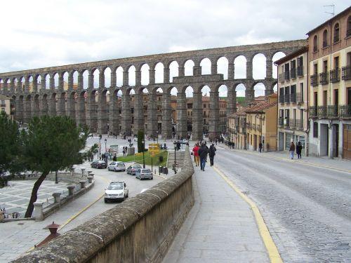segovia aqueduct azoguejo