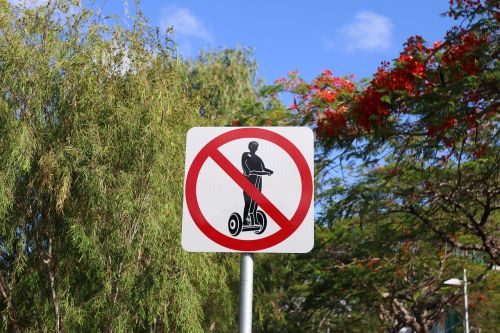 segway sign travel