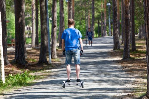 segway two wheels promenade