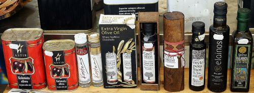 selection greek olive oil