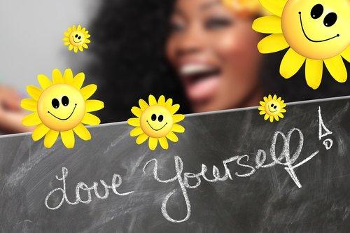 self love  board  blackboard