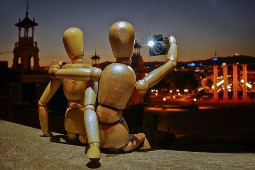selfie  mannequin  people